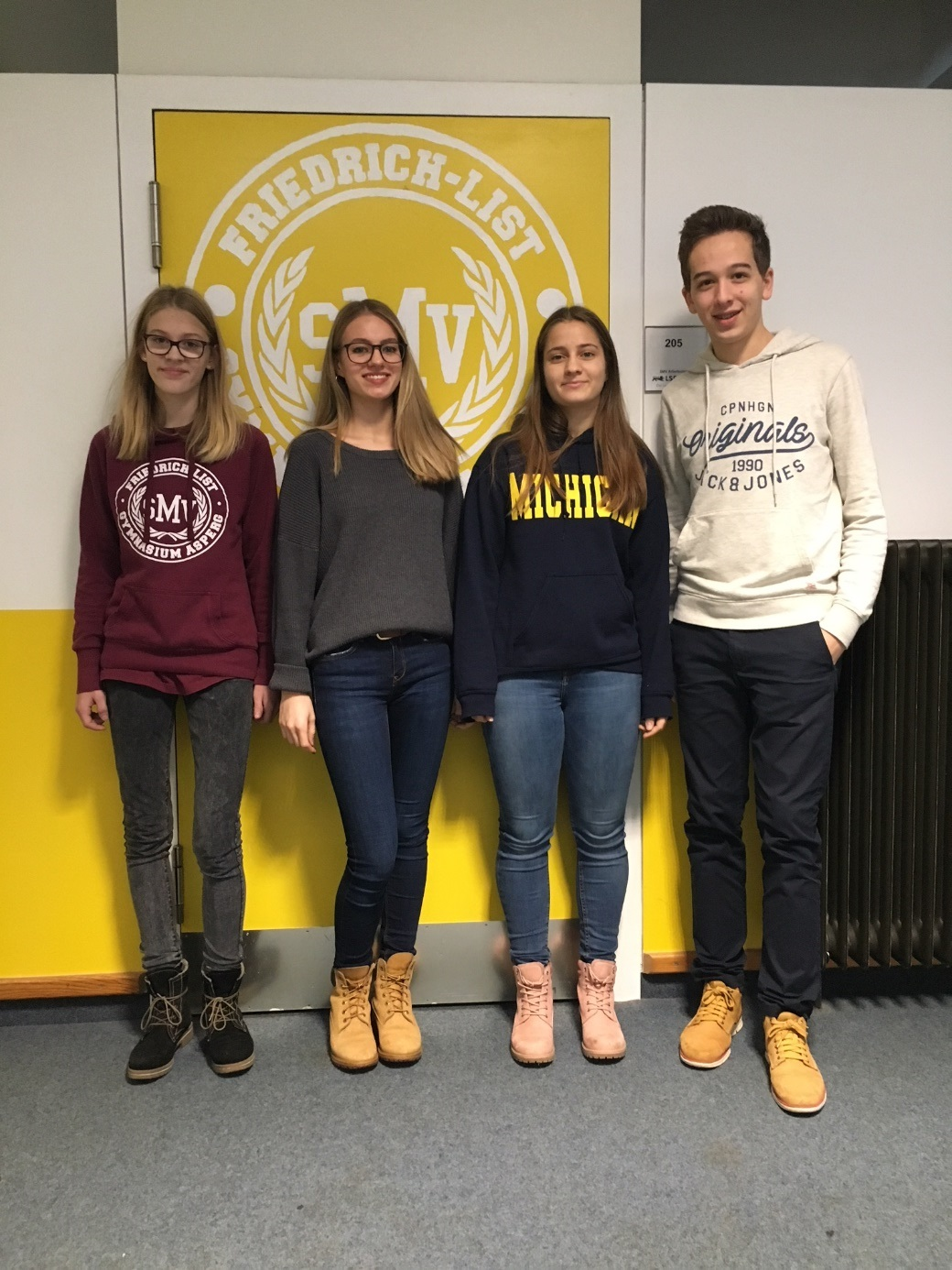 SMV Pool-Referat am Friedrich-List-Gymnasium Asperg 2017/18