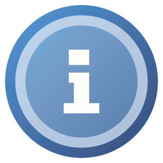 A tiny blue 'i' information icon from the Silk icon set at famfamfam.com. licensed with Cc-by-2.5 [ http://www.famfamfam.com/lab/icons/silk/ http://www.famfamfam.com/lab/ ]